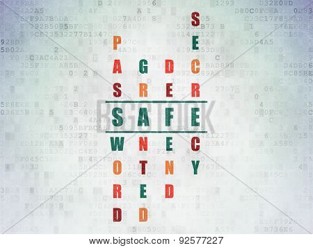 Safety concept: word Safe in solving Crossword Puzzle