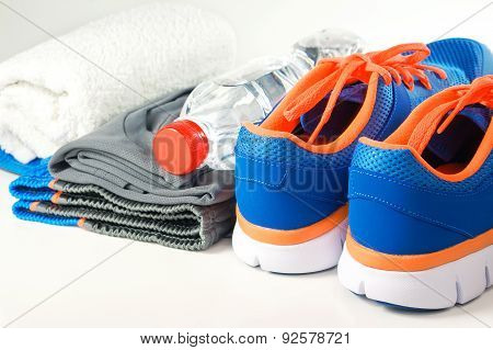 Sport Shoes With Clothing