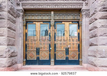 Romanesque Revival Architecture, Old City Hall,Toronto