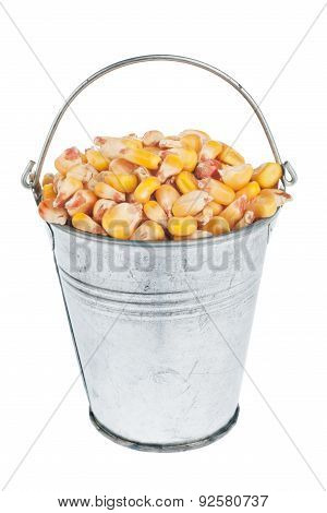 Bucket With  Corn