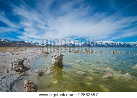 California's Mono Lake Geology