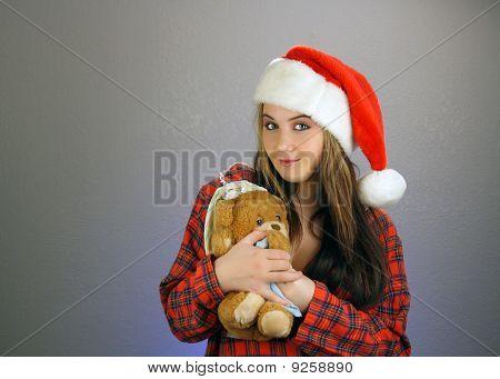 Teen Girl Santa's Helper