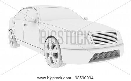 White car model