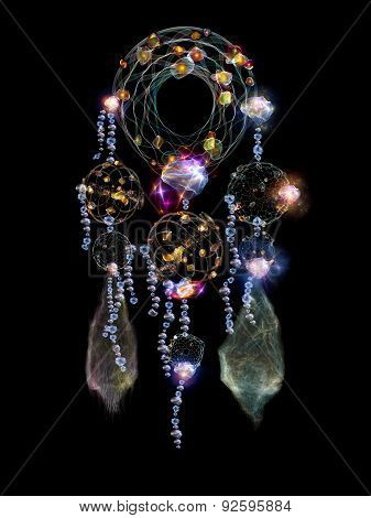 Glow Of Dream Catcher