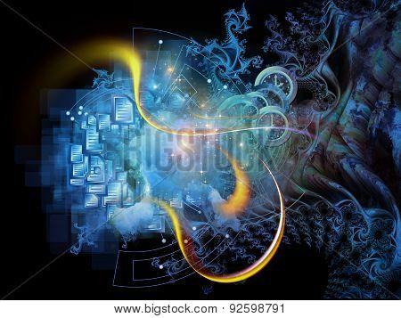 Fractal Mechanics Visualization