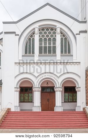 Entrance To The Dutch Reformed Church, Riversdale