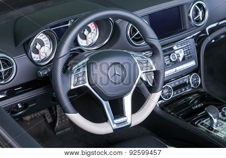 Interior Design Of Mercedes-benz Sl Class Cabriolet