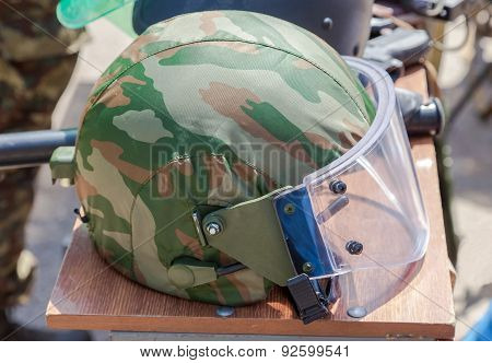 Helmet Of The Russian Special Forces