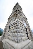 picture of world war one  - Memorial to the italian fallen soldiers in World War I with ossuary - JPG