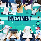 pic of revenue  - Invest Investment Fund Revenue Income Concept - JPG