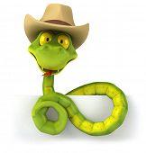 image of jungle snake  - Fun snake - JPG