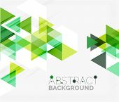 picture of geometric shape  - Abstract geometric background - JPG