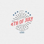 pic of usa flag  - Fourth of July Independence Day USA badges logos and labels for any use - JPG