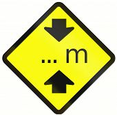 picture of restriction  - Warning road sign in Indonesia - JPG