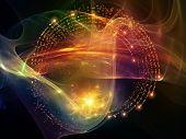 picture of sine wave  - Virtual Wave series - JPG
