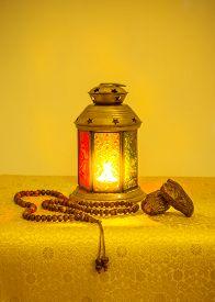stock photo of ramadan mubarak card  - Ramadan festive background - JPG