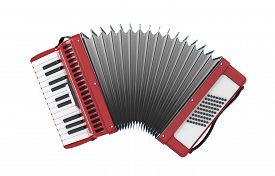 stock photo of accordion  - Accordion - JPG