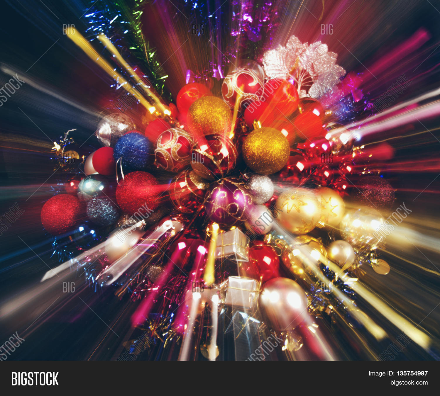 colorful new year decoration - photo #34