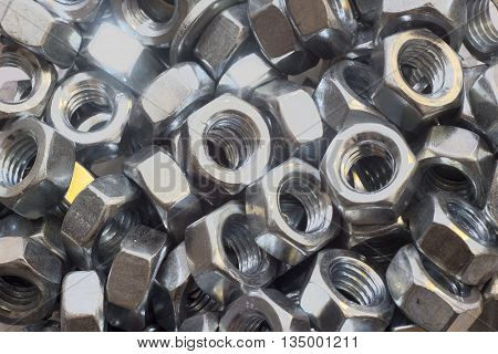 Photo fasteners - isolated on white background