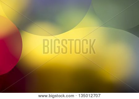 Multi Colored Background With Circles