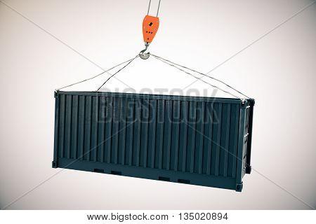 Crane Hook With Cargo