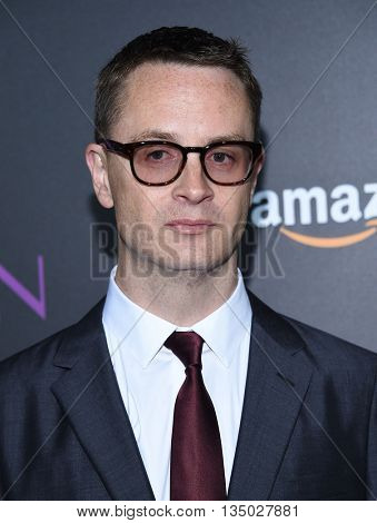 LOS ANGELES - JUN 14:  Nicolas Winding Refn arrives to the 'The Neon Demon' Hollywood Premiere  on June 14, 2016 in Hollywood, CA.