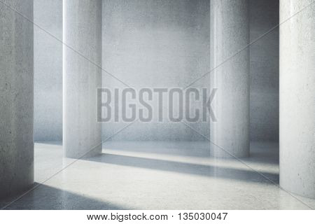 Blank Concrete Wall