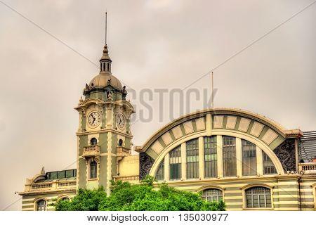 Zhengyangmen East Station, now China Railway Museum in Beijing