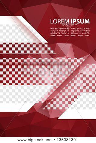 eps10 vector, A4 size leaflet pamphlet corporate modern design