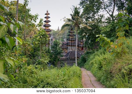 Pura Gunung Lebah Temple on the Campuhan Ridge Walk in Ubud Bali