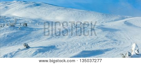 Winter Mountain Hill.