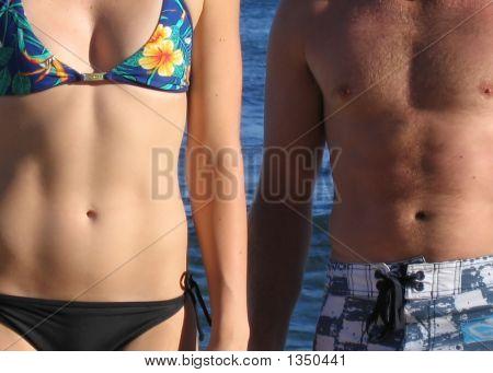 Bikini And Boardshorts