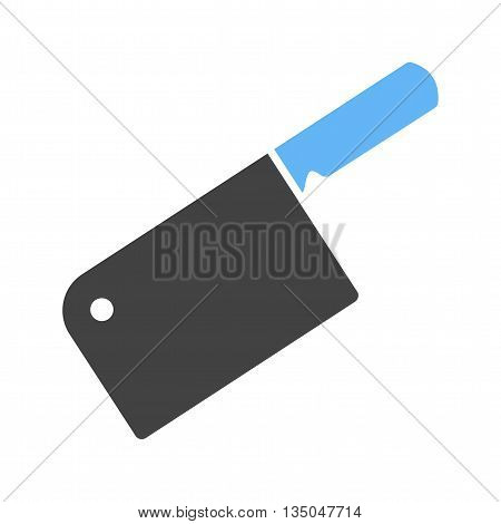 Cleaver, meat, knife icon vector image. Can also be used for kitchen. Suitable for use on web apps, mobile apps and print media.