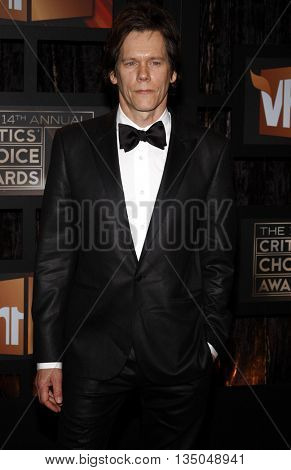 Kevin Bacon at the VH1's 14th Annual Critics' Choice Awards held at the Santa Monica Civic Auditorium in Santa Monica, USA on January 8, 2009.