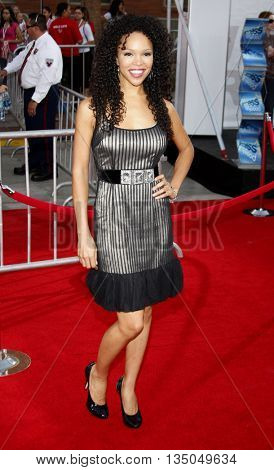 Brook Kerr at the Los Angeles Premiere of 'High School Musical 3: Senior Year' held at the Galen Center in Los Angeles, USA on October 16, 2008.