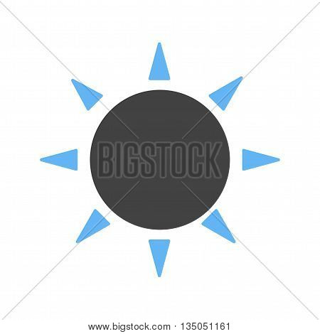 Sunny, day, light icon vector image. Can also be used for seasons. Suitable for web apps, mobile apps and print media.
