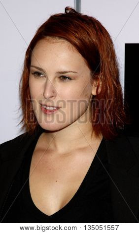 Rumer Willis at the Los Angeles Premiere of 'Push' held at the Mann Village Theater in Westwood, USA on January 29, 2009.
