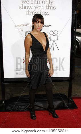 Fernanda Romero at the Los Angeles premiere of 'Zack and Miri Make a Porno' held at the Grauman's Chinese Theater in Hollywood, USA on October 20, 2008.