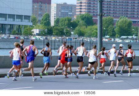 Marathon In Moscow