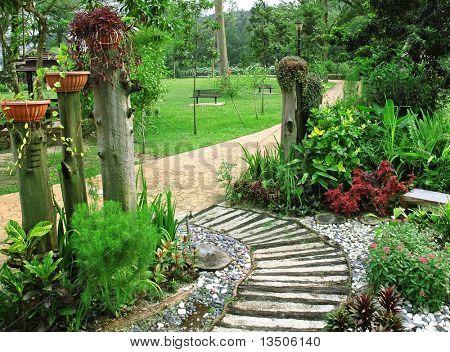 schönen Garten