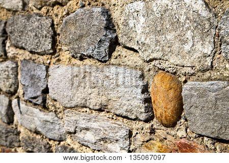 Brick In  Arsago Seprio  Street Lombard  Varese