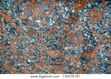 Granite wall pattern close view. Natural texture background