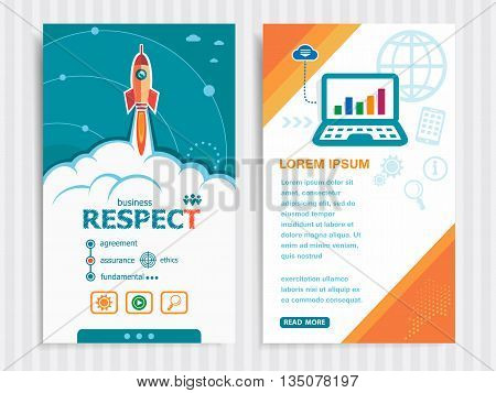 Project Respect Template And Set Of Banners.