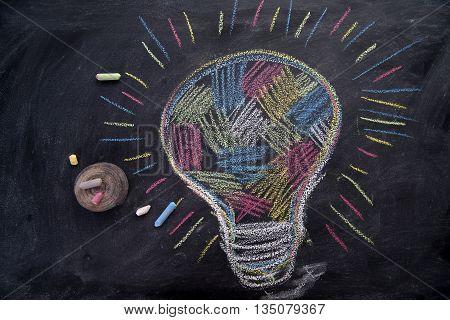 Multicolored Idea