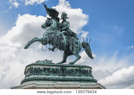 Statue Of The Archduke Charles Of Austria, Duke Of Teschen