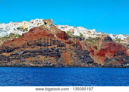 From One  Boat In Europe Greece   Rocks The