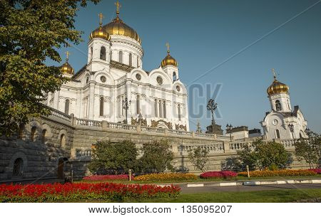The Cathedral of Christ the Savior Moscow Russia