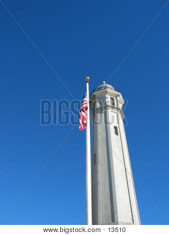 Tower And Flag