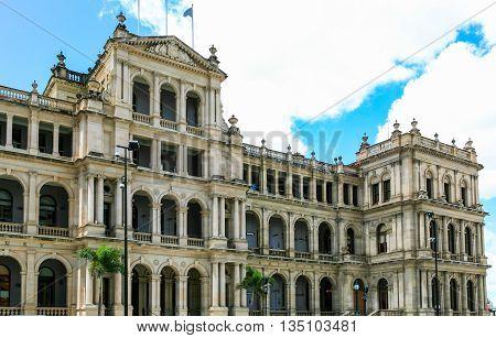 Treasury building and casino, Brisbane city, Australia