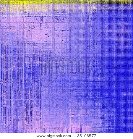 Old grunge vintage background or shabby texture with different color patterns: yellow (beige); brown; gray; black